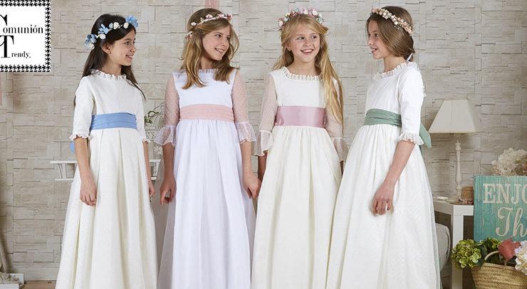 1fb577685 Vestidos de Comunión – Comunión Trendy // vestidos de comunión y ...