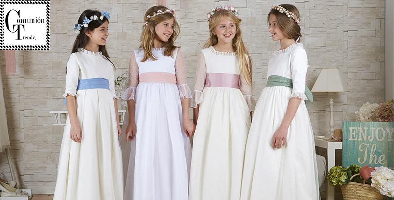 2f226430f Vestidos de Comunión COORDINANOS – Comunión Trendy    vestidos de ...